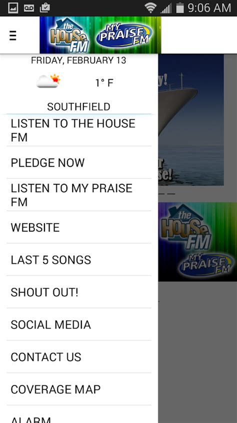 the house fm the house fm my praise fm android apps on google play