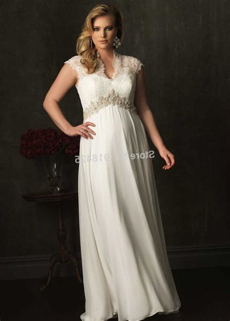 Discount Empire Wedding Dresses by Plus Size Wedding Dress Empire Waist Discount Evening