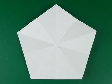 Pentagon Origami - the 5 pointed origami everythingg