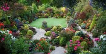 fotos de jardines de flores imagui