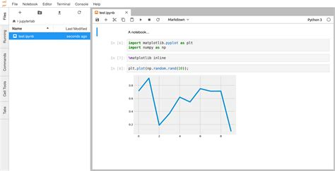 Python Launcher Notebook ipython cookbook 3 6 introducing jupyterlab