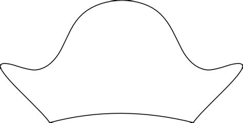 hat templates free templates of pirate hats coloring pages