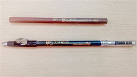 Eyeliner Just Miss by Review Pensil Alis Black Dan Eyeliner Brown Just Miss