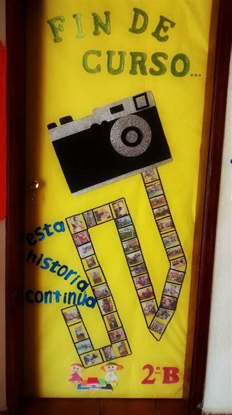 imagenes escolares de fin de curso 129 mejores im 225 genes sobre puertas decoradas en pinterest