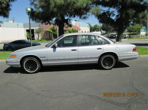 manual repair autos 1995 ford crown victoria navigation system 1995 ford crown victoria police interceptor for sale in anaheim ca from wild rose motors