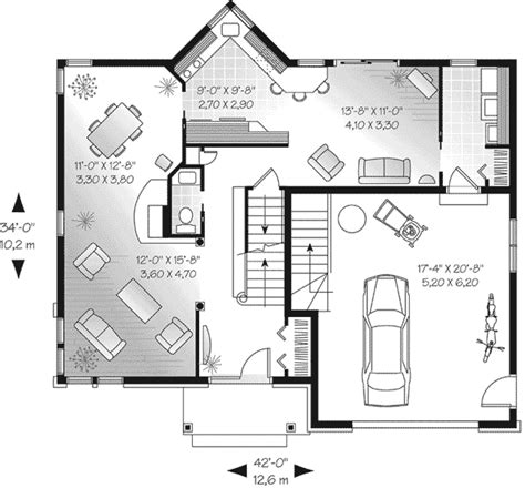 sweden valley traditional home plan 032d 0464 house