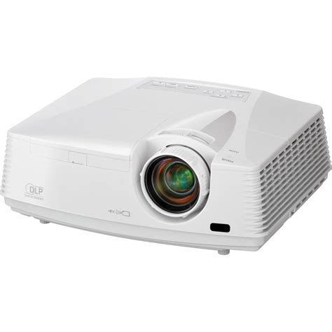 mitsubishi wd620u wxga dlp projector wd620u b h photo
