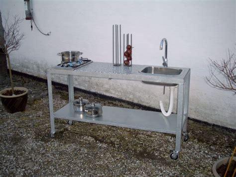 Ikea Design galvaniseret bord med fliser st 229 lh 229 ndvask til udek 248 kken