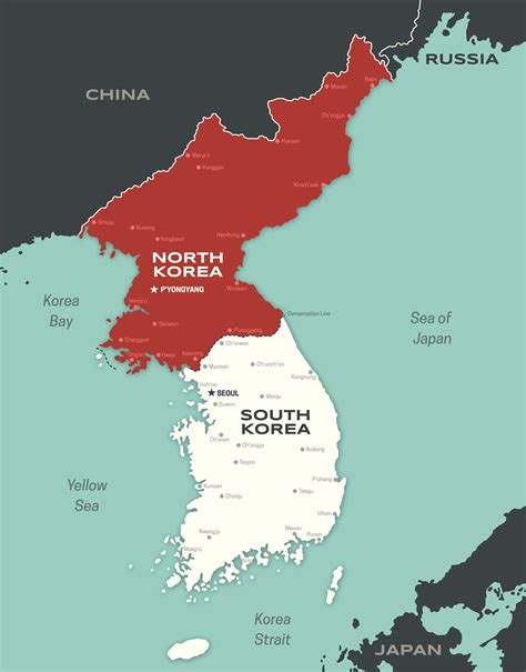 map of korea why are and south korea divided history in the