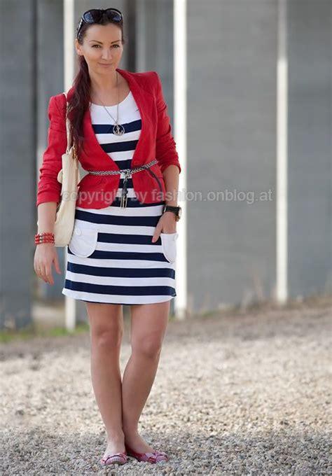 Dress Blazer Marun marine white blue dress and blazer fabulous a1