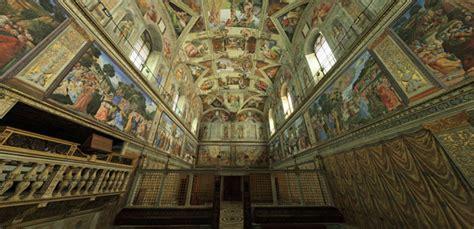 decke der sixtinischen kapelle sixtinische kapelle rom virtueller rundgang kultur bunny