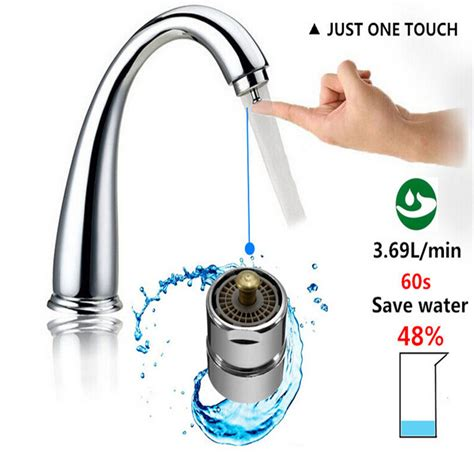 Water Aerator Faucet by Touch Faucet Aerator Water Valve Water Saving One