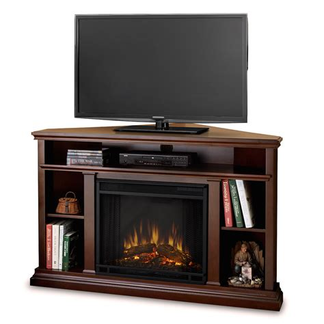 Espresso Electric Fireplace by Real Churchill Electric Fireplace In Espresso