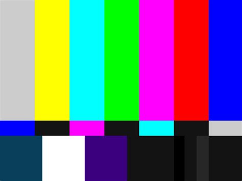 color patterns smpte color bars