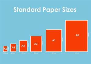 all printing paper sizes mac x windows