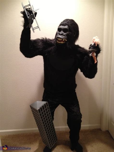 diy king kong costume photo