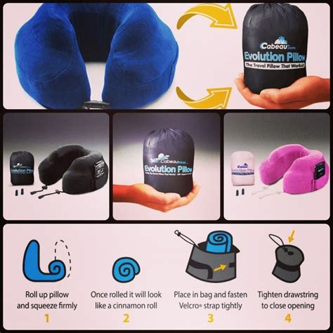 Travel Pillow Memory Foam Compact by 17 Best Images About Cabeau Memory Foam Evolution Travel