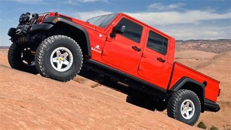 jeep ute conversion jeep wrangler cab ute to launch in new