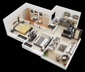 Home Design 3d Create Your Home Simply And Quickly by 25 More 2 Bedroom 3d Floor Plans