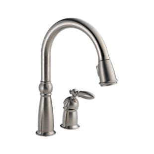 Delta Faucets Customer Service Number by 955 Ss Dst Single Handle Pull Kitchen