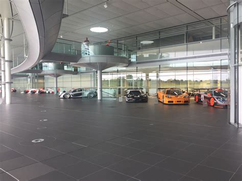 mclaren factory interior inside mclaren technology centre where f1 racers and