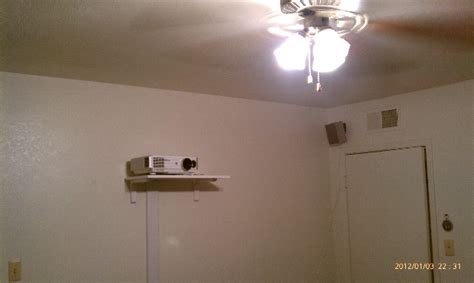 small roomprojector setup  needed suggestions