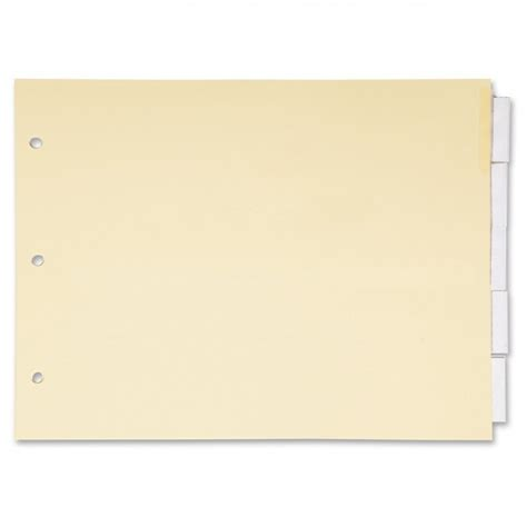landscape index dividers ld products