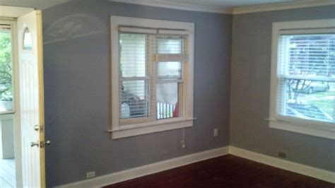 living room custom window and door trim walls painted with valspar ultra color voyage floors