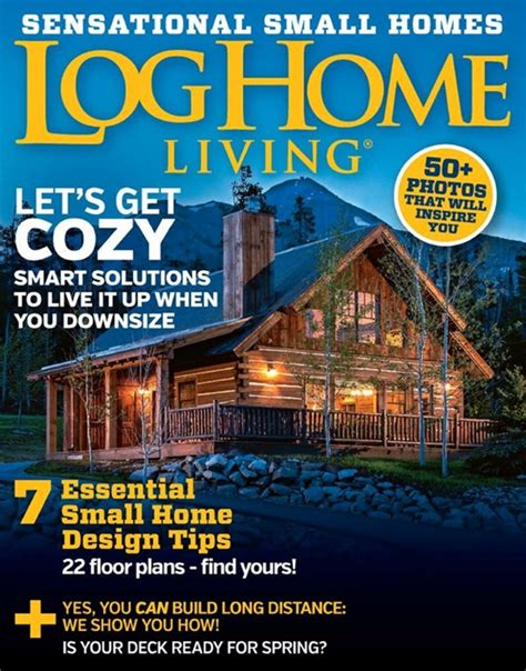 Log Cabin Home Magazine by Library