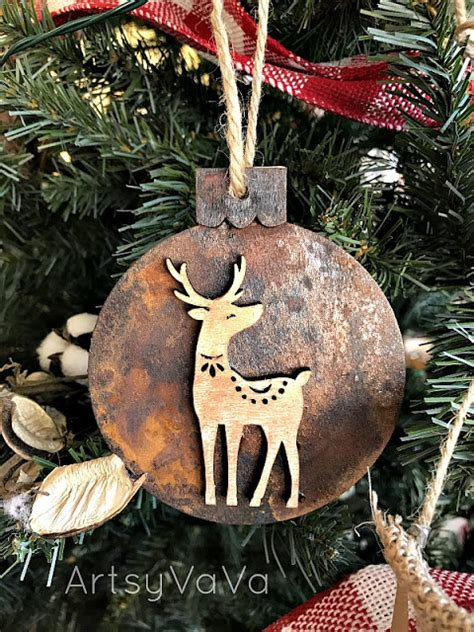 artsy ornaments diy salvaged junk projects 406funky junk interiors