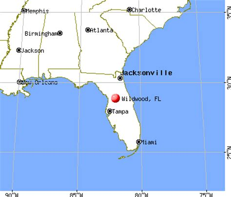 where is wildwood florida on the map wildwood florida fl 34785 profile population maps