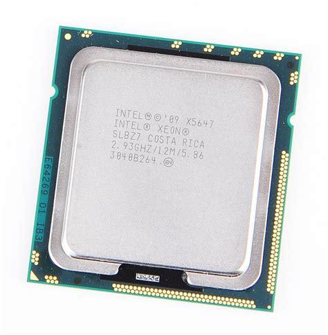 Processor Xeon intel xeon x5647 2 93ghz 12m 5 86gt s fclga1366 processor cpu slbz7