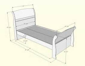 Size Of A Twin Bed twin size bed dimensions submited images