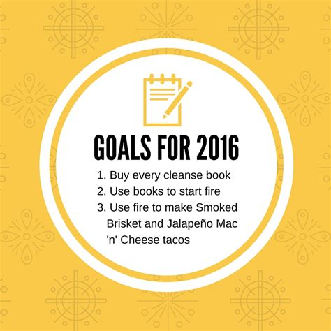 how to write new year s resolutions the taco cleanse