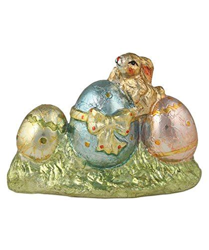 ceramic nature rabbit table l easter bunny figurines page four easter wikii