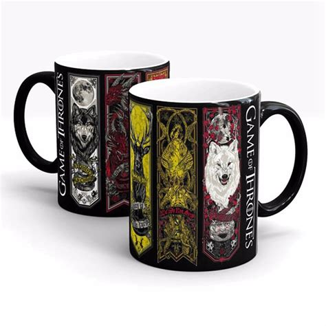 color changing coffee mug of thrones mug heat sensitive color changing coffee