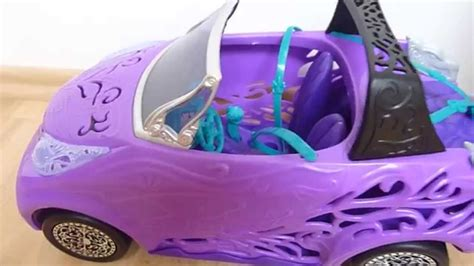 Monster High Auto by Monster High Scaris Convertible Car Youtube
