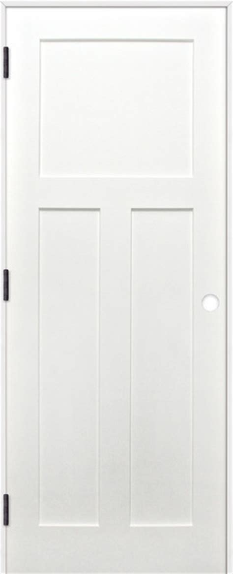 32x80 Interior Door Interior Prime Pine 3 Panel Shaker Reversible Handing Pre Hung Door Kit Interior Doors By