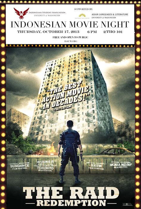 film action indonesia the raid indonesian movie night the raid redemption asian