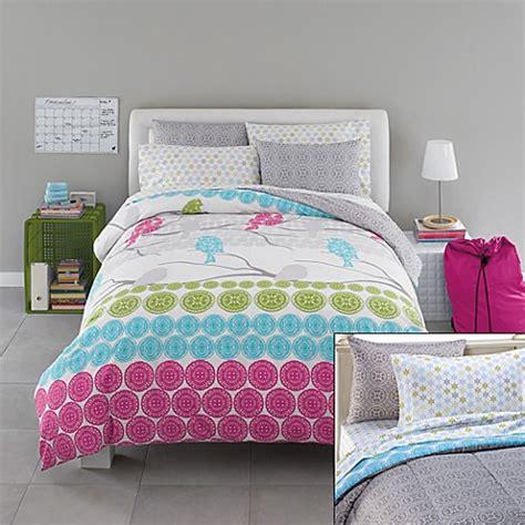 bed bath and beyond college bedding ellie 11 piece reversible complete dorm room bedding set