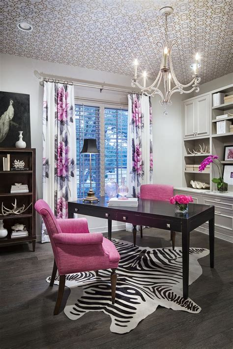 pink and black home decor 25 best ideas about pink office on