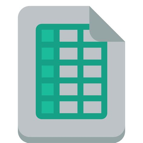 small flat file file excel icon small flat iconset paomedia
