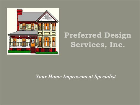 idb home design inc david scherber preferred design services inc