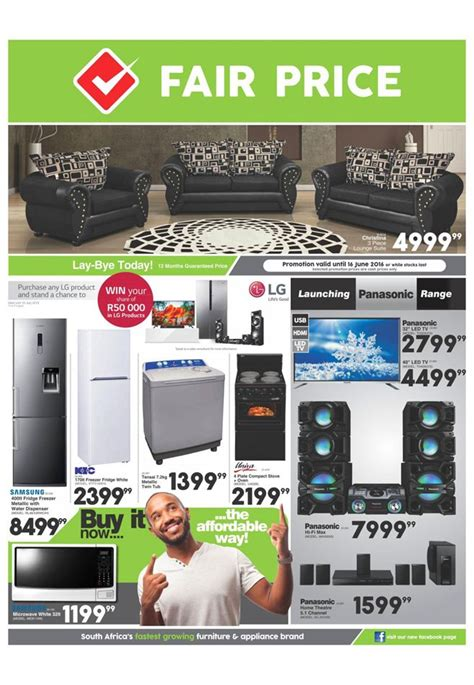 Kitchen Furnitures by Fair Price Furniture Catalogue 2 June 16 June 2016