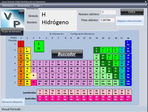 printable periodic table of elements in spanish periodic table software