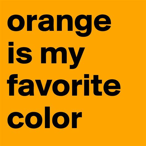 favorite color orange is my favorite color post by astridandersen on