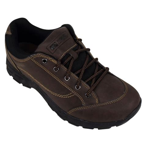 mens rugged outback casual walking shoes outdoor trainers