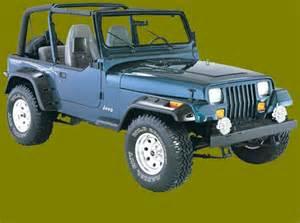 Jeep Yj Fender Flares Jeep Fender Flares Bushwacker Jeep Fender Flares