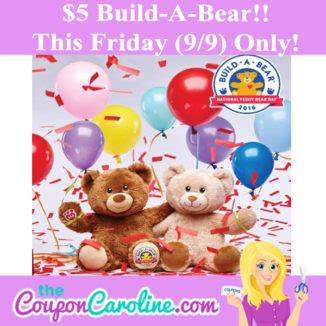 How Long Do Build A Bear Gift Cards Last - the coupon caroline shopping while saving one deal at a time