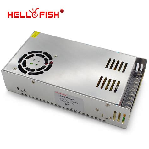 Adaptor 12v 30a aliexpress buy hello fish 12v 30a 360w switching power supply 12v 30a power adapter 12v